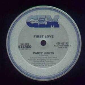 Front Cover Single First Love - Party Lights