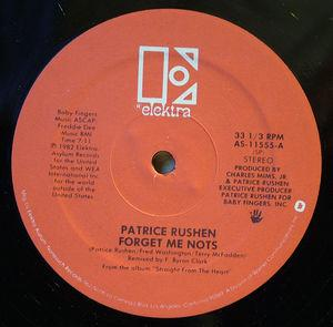 Front Cover Single Patrice Rushen - Forget Me Nots