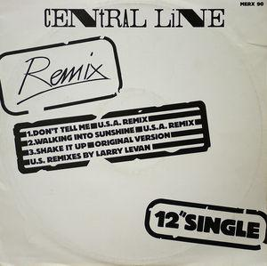 Front Cover Single Central Line - Don't Tell Me