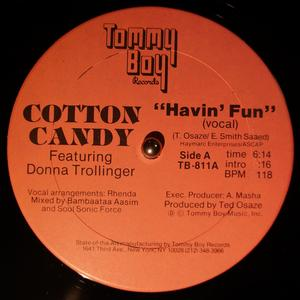 Front Cover Single Candy Cotton - Havin' Fun