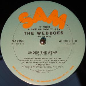 Front Cover Single The Webboes - Under The Wear