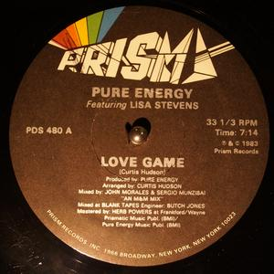 Single Cover Pure Energy - Love Game