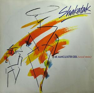 Single Cover Shakatak - Mr. Manic & Sister Cool