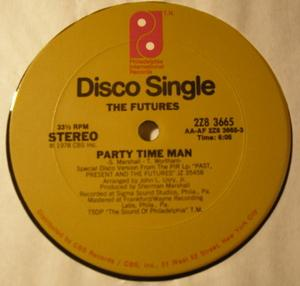 Single Cover The - Party Time Man Futures