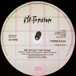 Single Cover Hi Tension - We've Got The Funk