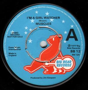 Single Cover Muscles - I'm A Girl Watcher