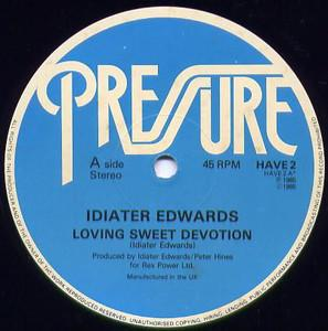 Single Cover Idiater - Loving Sweet Devotion Edwards