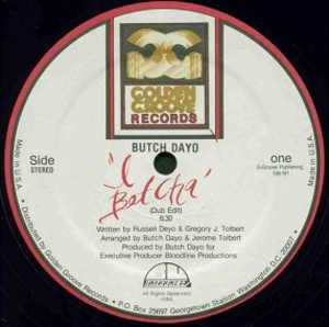 Single Cover Butch - I Betcha Dayo