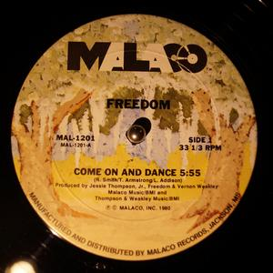 Single Cover Freedom - Come On And Dance