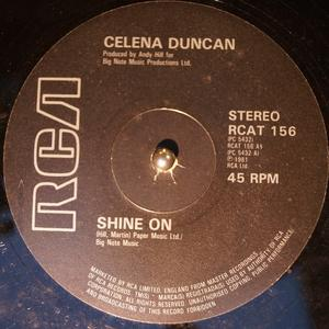 Single Cover Celena - Shine On Duncan