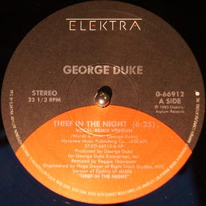 Single Cover George - Thief In The Night Duke
