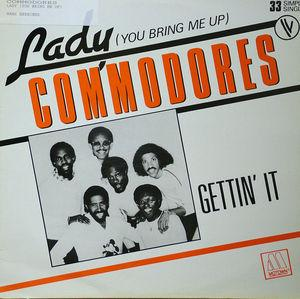 Single Cover Commodores - Lady (you Bring Me Up)