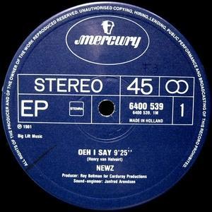 Single Cover Newz - Oeh I Say