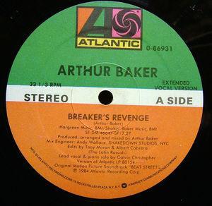 Single Cover Arthur - Breakers Revenge Baker