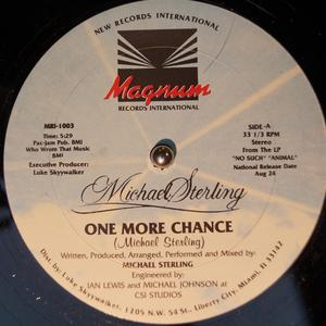 Single Cover Michael - One More Chance Sterling