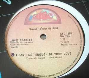 Single Cover James - I'm In Too Deep Bradley
