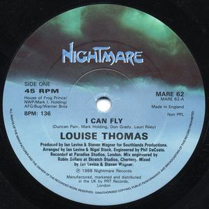 Single Cover Louise - I Can Fly Thomas