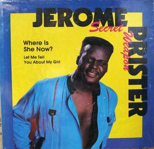 Single Cover Jerome - Where Is She Now? Prister