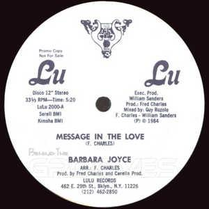 Single Cover Barbara - Message In The Love Joyce