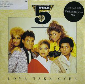 Single Cover Five Star - Love Take Over