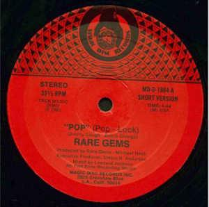 Single Cover Rare Gems - Pop (pop - Lock)