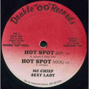 Single Cover Mc Chief Sexy Lady - Hot Spot