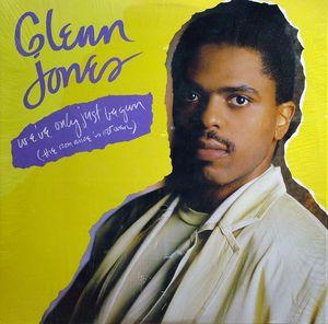 Single Cover Glenn - We've Only Just Begun Jones