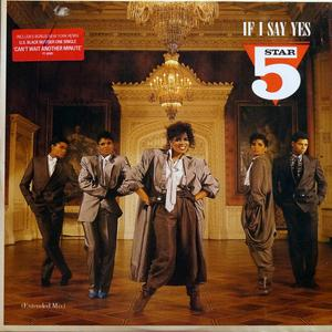Single Cover Five Star - If I Say Yes