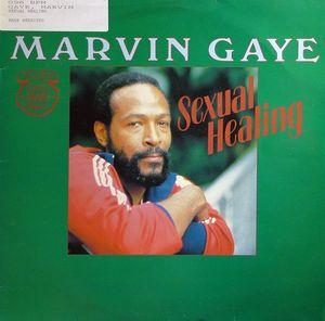 Single Cover Marvin - Sexual Healing Gaye