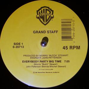 Single Cover Grand Staff - Everybody Party Big Time