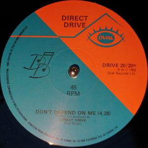 Single Cover Direct Drive - Don't Depend On Me
