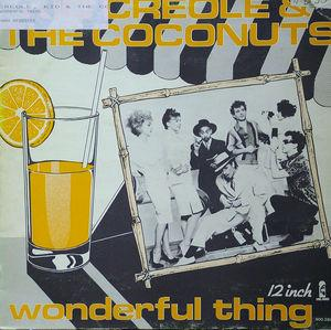 Single Cover Kid - Wonderful Thing Creole & The Coconuts