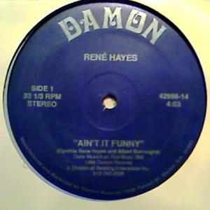 Single Cover René - Ain't It Funny Hayes