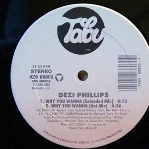 Single Cover Dezi - Why You Wanna Phillips