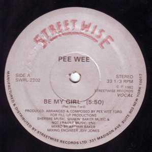 Single Cover Pee Wee - Be My Girl Ford