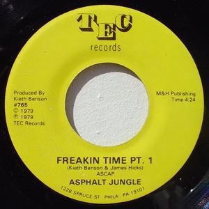 Single Cover Asphalt Jungle - Freakin' Time Pt. 1