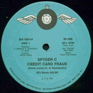 Single Cover Spyder C - Credit Card Fraud