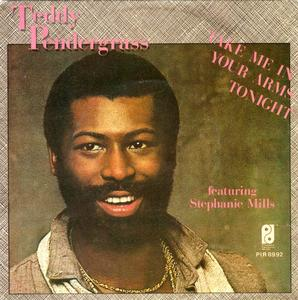 Single Cover Teddy - Take Me In Your Arms Tonight Pendergrass