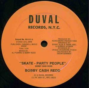 Single Cover Bobby Cash Redd - Skate - Party People