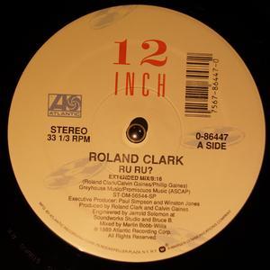 Single Cover Roland - Ru Ru? Clark