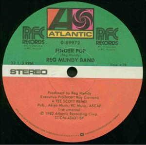 Single Cover Reg - Finger Pop Mundy Band