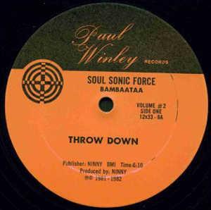 Single Cover Soul Sonic Force - Throw Down Part 1
