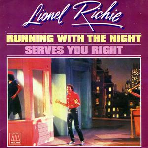 Single Cover Lionel - Running With The Night Richie