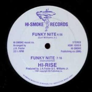 Single Cover Hi-rise - Funky Nite