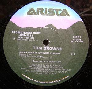 Single Cover Tom - Secret Fantasy Browne