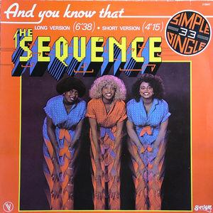 Single Cover The - And You Know That Sequence