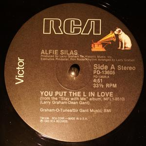 Single Cover Alfie - You Put The L In Love Silas