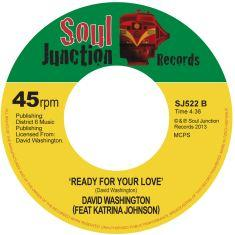 Single Cover David - Ready For Love Washington
