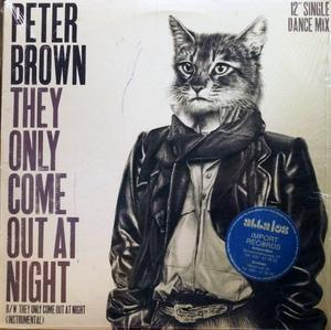 Single Cover Peter - They Only Come Out At Night Brown