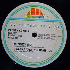 Single Cover Patrick - Menergy Cowley